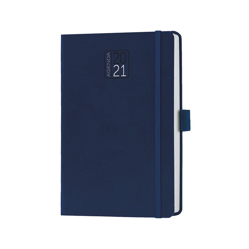 PB528 - Agenda giornaliera 324 pagine s/d/a F.to cm 14x21 ca (chiuso) Blu PB528BL