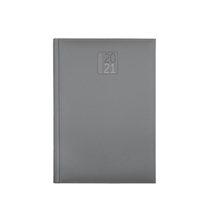 PB512 - Agenda giornaliera 324 pagine s/d/a F.to cm 17x24 ca (chiuso) Grigio PB512GR