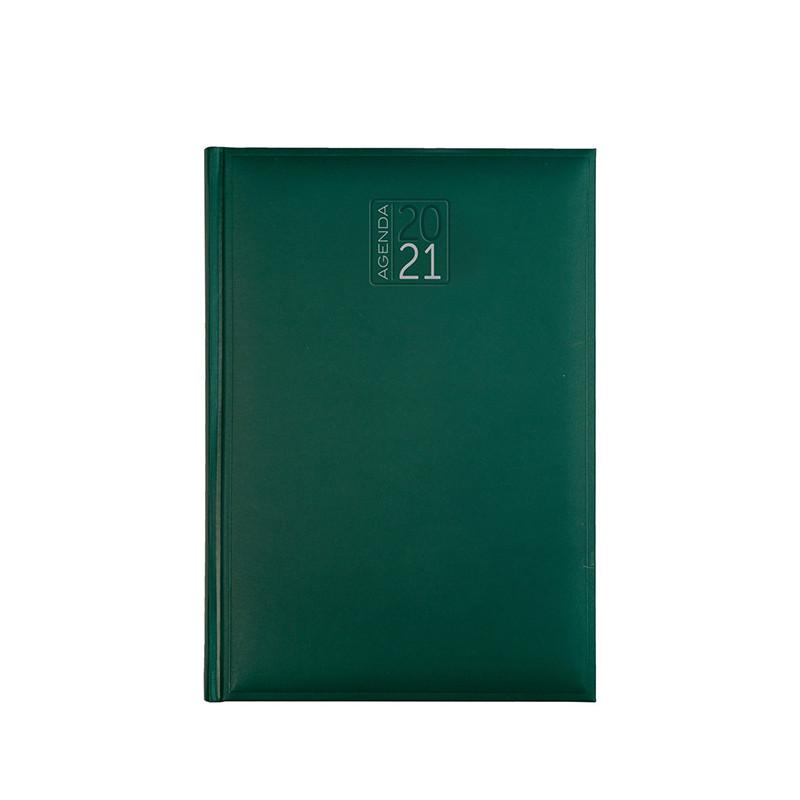 PB512 - Agenda giornaliera 324 pagine s/d/a F.to cm 17x24 ca (chiuso) Verde PB512VE