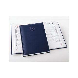 PB510 - Agenda giornaliera 404 pagine s/d/s F.to cm 17x24 ca (chiuso) Blu PB510BL