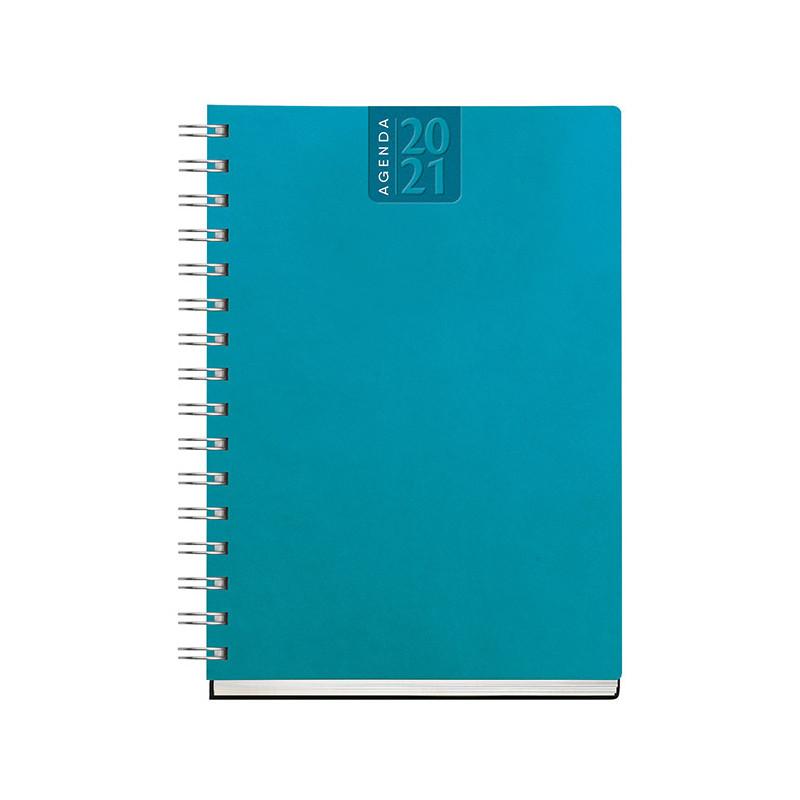 PB375 - Agenda giornaliero 336 pag. F.to cm 15x21 ca (chiuso) Azzurro PB375AZ