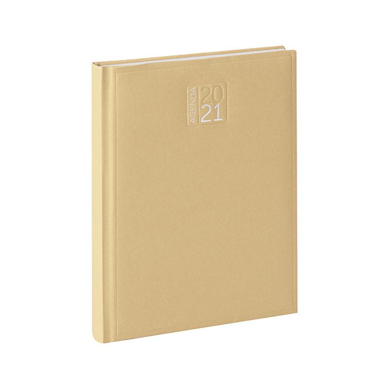 PB353 - Agenda settimanale 132 pagine F.to cm 17x24 ca (chiuso) Avana PB353NA