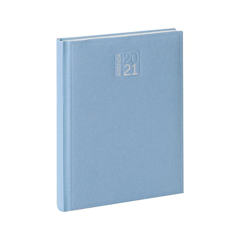 PB353 - Agenda settimanale 132 pagine F.to cm 17x24 ca (chiuso) Azzurro PB353AZ