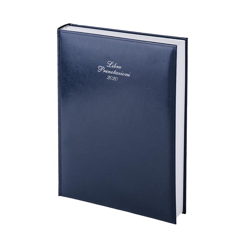 Libro prenotazioni 576 pagine ven. sab. e festivi in doppia pagina Blu PB474BL