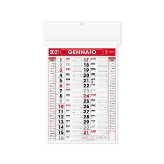 PA550 - Olandese mensile 12 fogli Rosso PA550RO