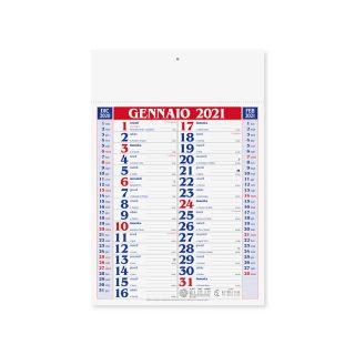 PA650 - Olandese mensile 12 fogli Rosso PA650RO
