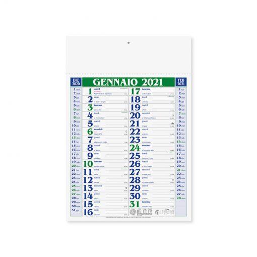 PA650 - Olandese mensile 12 fogli Verde PA650VE