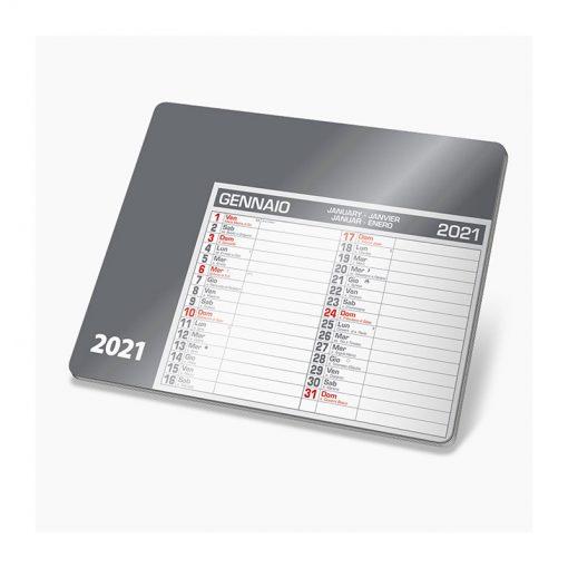 PA780 - Tappetino mouse calendario Grigio PA780GR