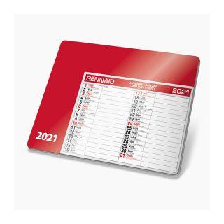 PA780 - Tappetino mouse calendario Rosso PA780RO