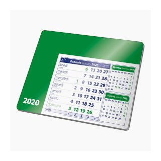 PA780 - Tappetino mouse calendario Verde PA780VE