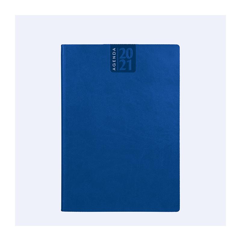 PB320 - Agenda giornaliera 324 pag. S/d/a F.to cm 17x24 ca (chiuso) Blu PB320BL