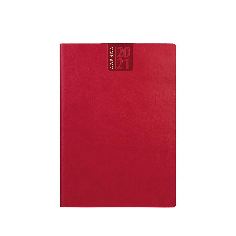 PB320 - Agenda giornaliera 324 pag. S/d/a F.to cm 17x24 ca (chiuso) Rosso PB320RO