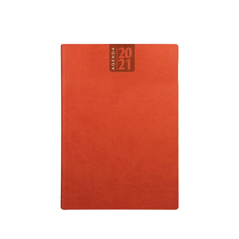 PB330 - Agenda giornaliera 324 pag. S/d/a F.to cm 15x21 ca (chiuso) Arancio PB330AR