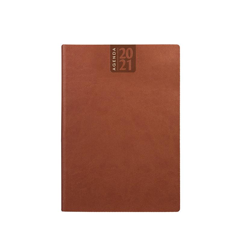 PB330 - Agenda giornaliera 324 pag. S/d/a F.to cm 15x21 ca (chiuso) Cuio PB330CU