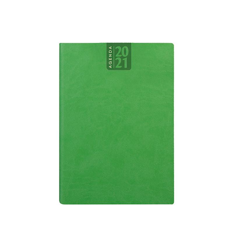 PB330 - Agenda giornaliera 324 pag. S/d/a F.to cm 15x21 ca (chiuso) Verde Lime PB330VL