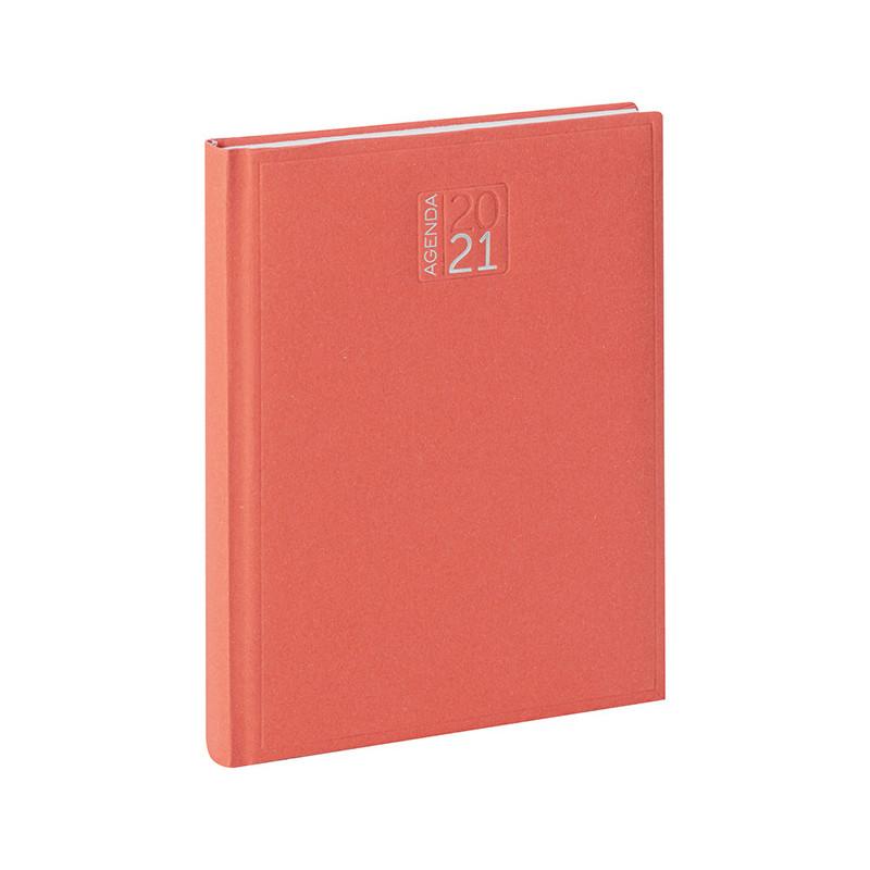 PB352 - Agenda giornaliera 324 pagine s/d/a F.to cm 17x24 ca (chiuso) Rosso PB352RO