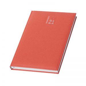 PB354 - Agenda giornaliera 324 pagine s/d/a F.to cm 15x21 ca (chiuso) Rosso PB354RO