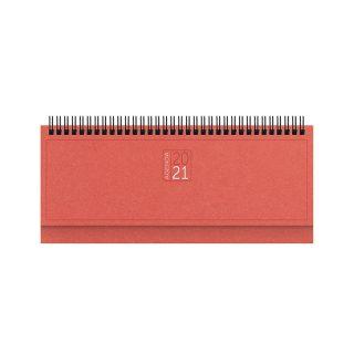 PB355 - Planning 128 pagine F.to cm 30x14 ca Rosso PB355RO