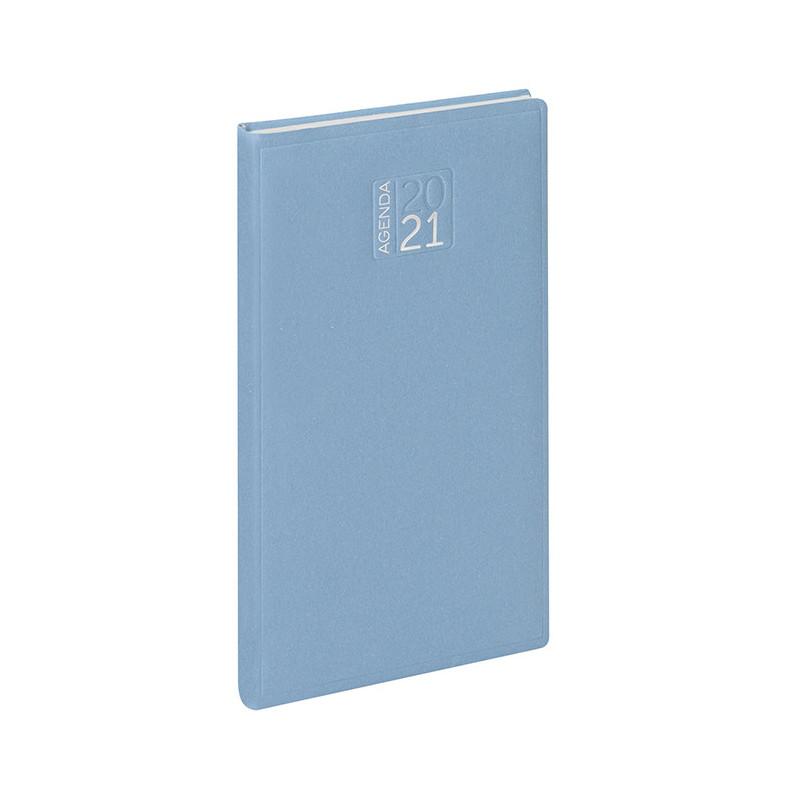 PB356 - Agenda settimanale 132 pagine F.to cm 8x15 ca (chiuso) Azzurro PB356AZ