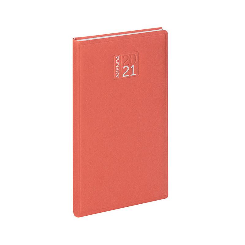 PB356 - Agenda settimanale 132 pagine F.to cm 8x15 ca (chiuso) Rosso PB356RO