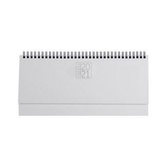 PB489 - Planning 128 pagine F.to cm 30x14 ca (chiuso) Bianco PB489BI