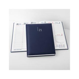 PB506 - Agenda maxi settimanale 132 pagine F.to cm 20x27 ca (chiuso) Blu PB506BL