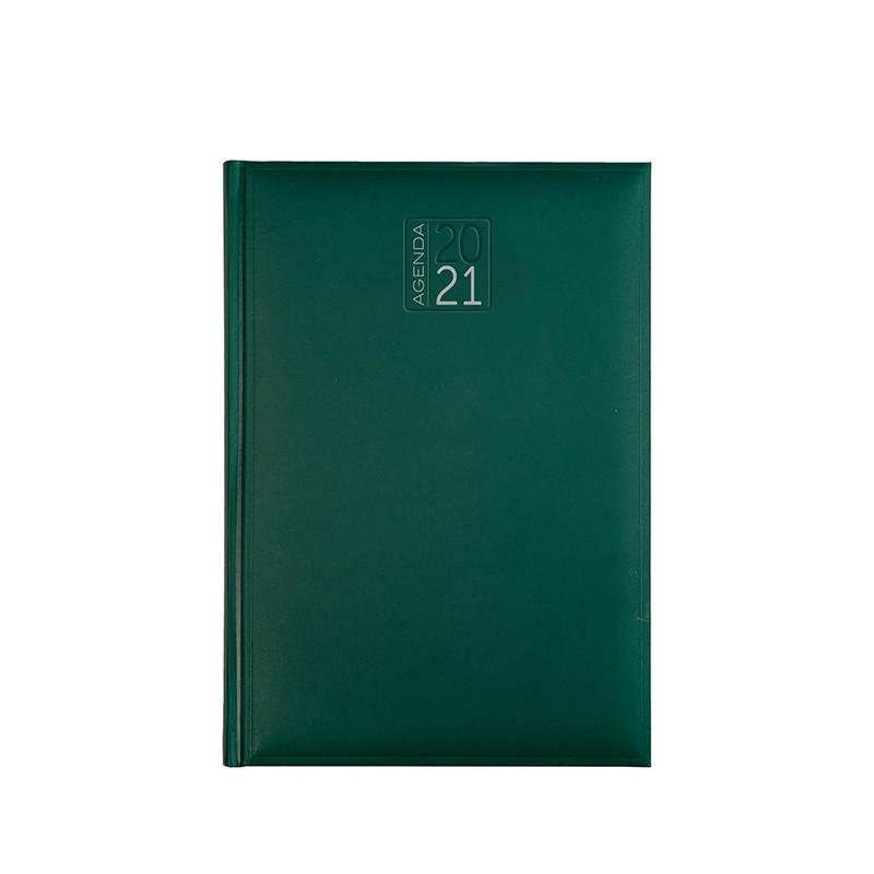 PB540 - Agenda settimanale 132 pagine F.to cm 17x24 ca (chiuso) Verde PB540VE