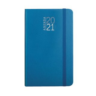 PB544 - 352 pag. (333 pag. agenda sab. e dom. abbinati) F.to cm 9x15 ca (chiuso) Azzurro PB544AZ