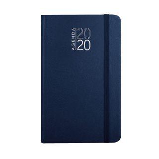 PB544 - 352 pag. (333 pag. agenda sab. e dom. abbinati) F.to cm 9x15 ca (chiuso) Blu PB544BL
