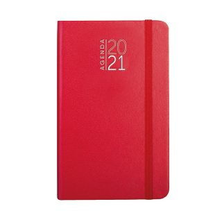 PB544 - 352 pag. (333 pag. agenda sab. e dom. abbinati) F.to cm 9x15 ca (chiuso) Rosso PB544RO