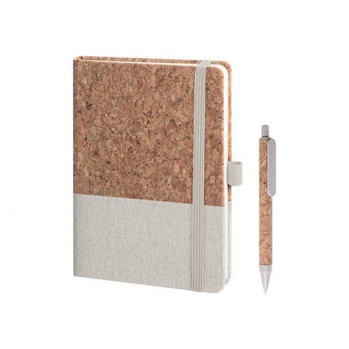 PB569 - Notes con elastico Ecru PB569EC