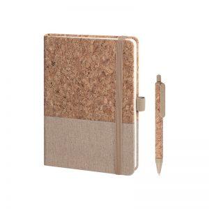PB569 - Notes con elastico Marrone PB569MA