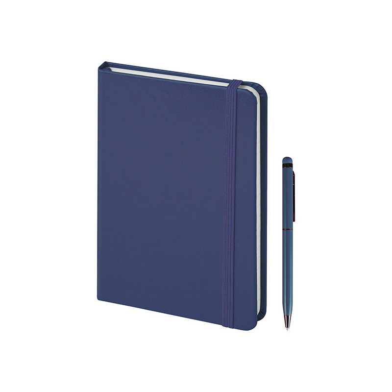 PB578 - 160 pagine a righe Blu PB578BL
