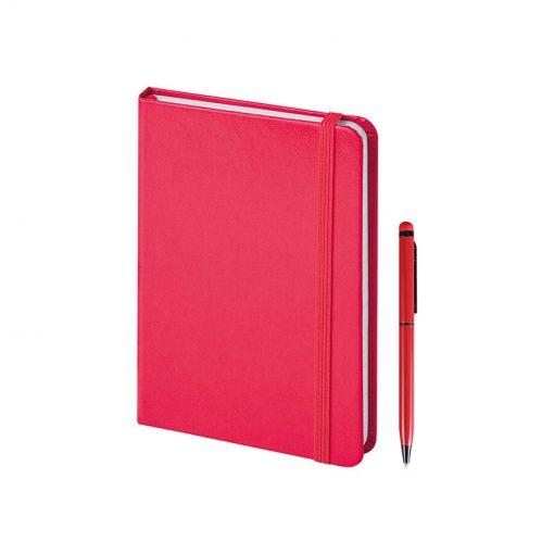 PB578 - 160 pagine a righe Rosso PB578RO