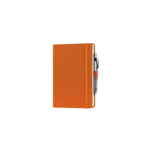 PB600 - 240 pagine a righe carta avorio F.to cm 13xh21 ca (chiuso) Arancio PB600AR