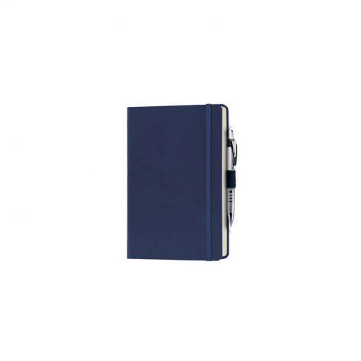 PB600 - 240 pagine a righe carta avorio F.to cm 13xh21 ca (chiuso) Blu PB600BL
