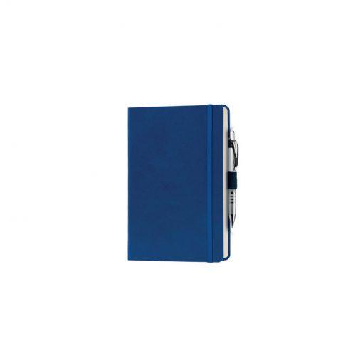 PB600 - 240 pagine a righe carta avorio F.to cm 13xh21 ca (chiuso) Blu Royal PB600RY