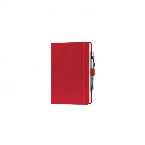 PB600 - 240 pagine a righe carta avorio F.to cm 13xh21 ca (chiuso) Rosso PB600RO