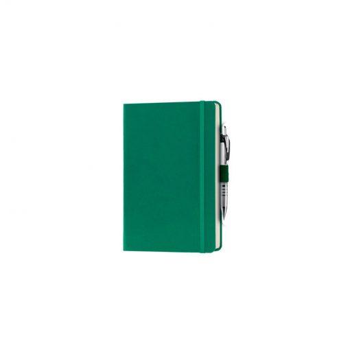 PB600 - 240 pagine a righe carta avorio F.to cm 13xh21 ca (chiuso) Verde PB600VE