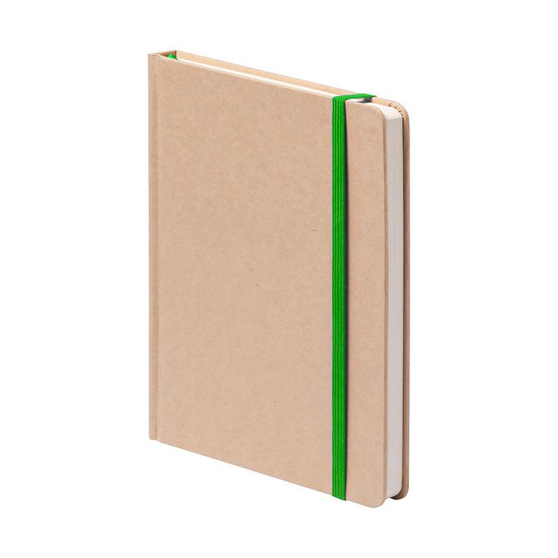 PB603 - 160 pagine a righe F.to cm 9x14 ca (chiuso) Verde PB603VE