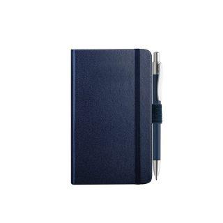 PB607 - 160 pagine a righe F.to cm 9xh14 ca (chiuso) Blu PB607BL