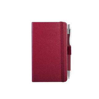 PB607 - 160 pagine a righe F.to cm 9xh14 ca (chiuso) Bordeaux PB607BO