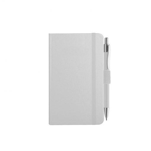 PB607 - 160 pagine a righe F.to cm 9xh14 ca (chiuso) Bianco PB607BI