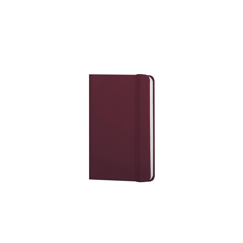 PB610 - 160 pagine a quadretti F.to cm 9xh14 ca (chiuso) Bordeaux PB610BO