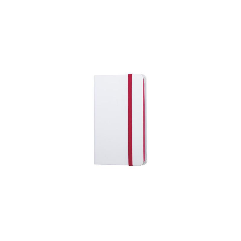 PB612 - 160 pagine neutre F.to cm 9xh14 ca (chiuso) Rosso PB612RO