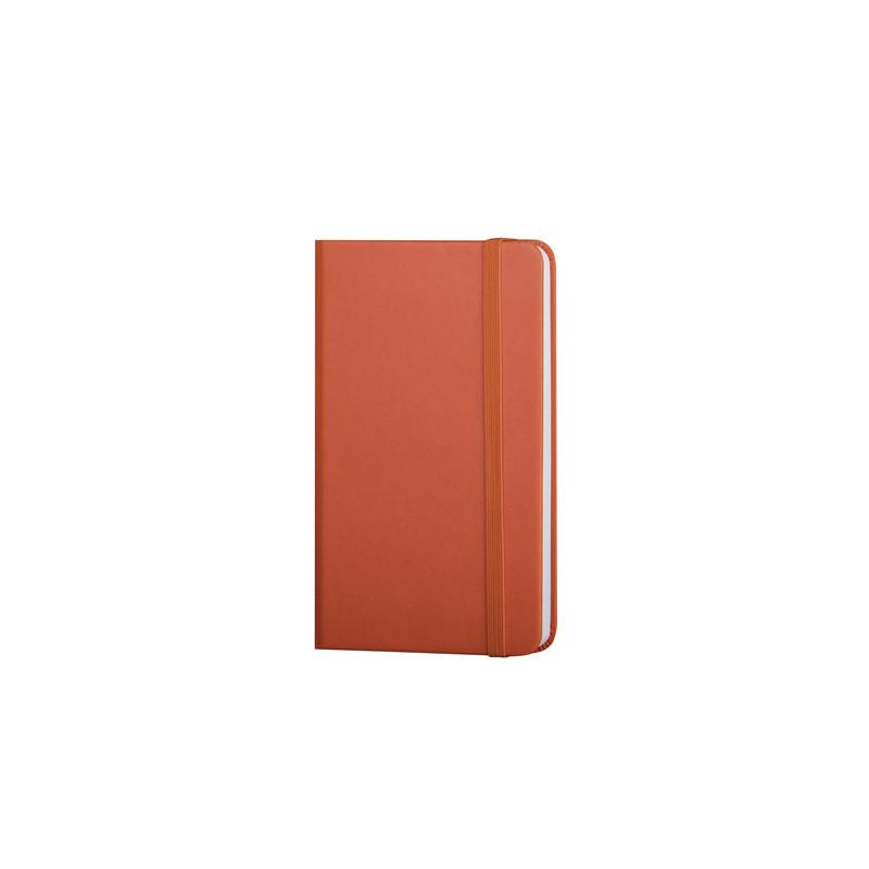 PB614 - 160 pagine neutre F.to cm 9xh14 ca (chiuso) Arancio PB614AR