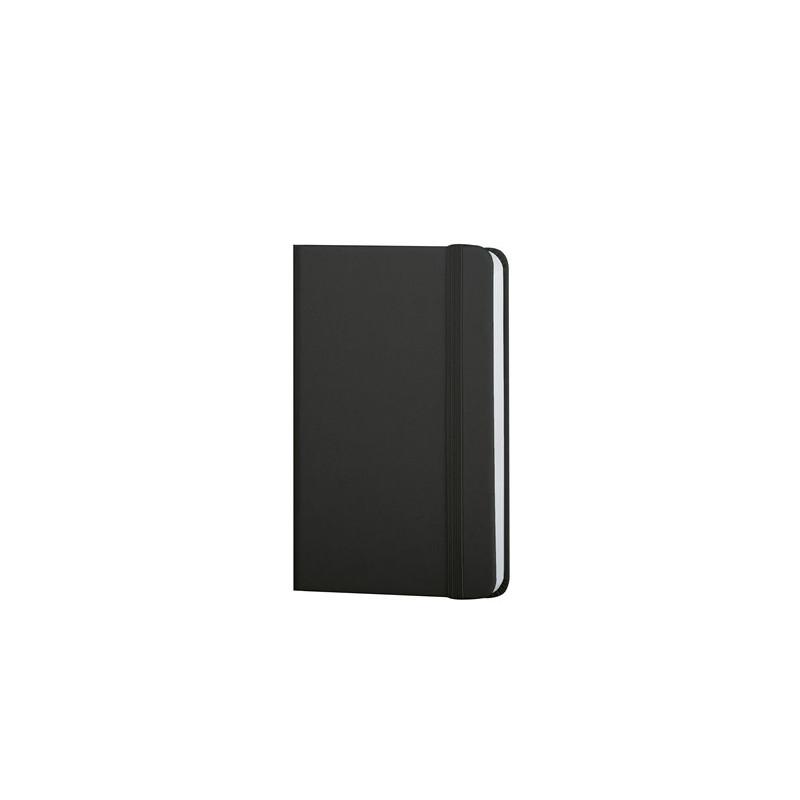 PB616 - 160 pagine a righe F.to cm 9xh14 ca (chiuso) Nero PB616NE