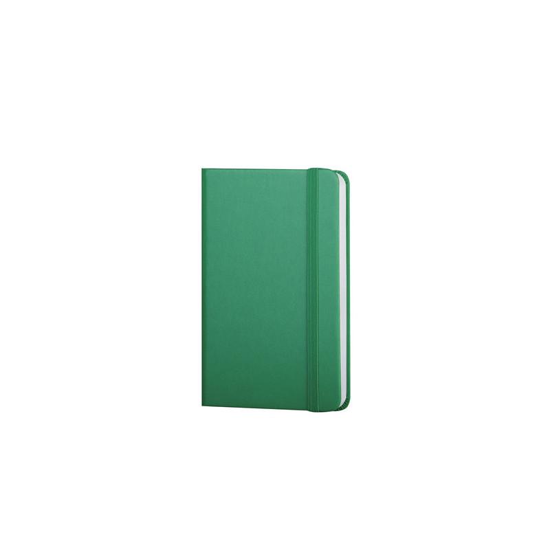 PB616 - 160 pagine a righe F.to cm 9xh14 ca (chiuso) Verde PB616VE