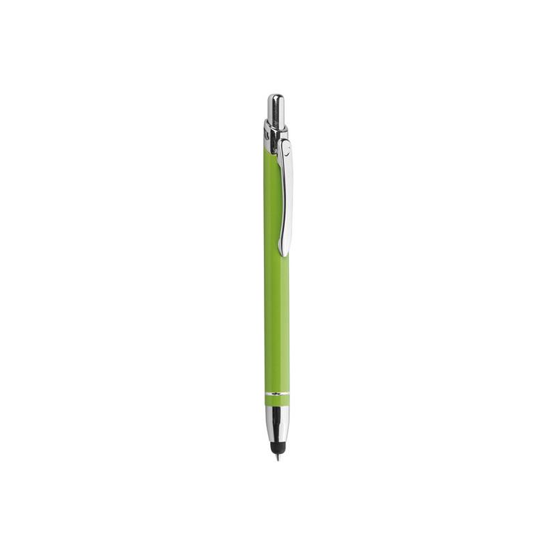PD088 - Penna a sfera con gommino per touch screen Verde Lime PD088VL