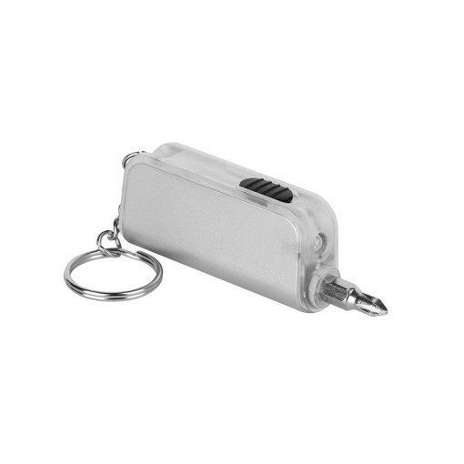 PE163 - Portachiavi mini cacciavite Trasparente PE163TR
